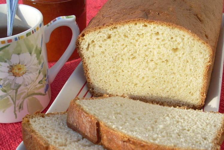 Brioche moelleuse en machine à pain