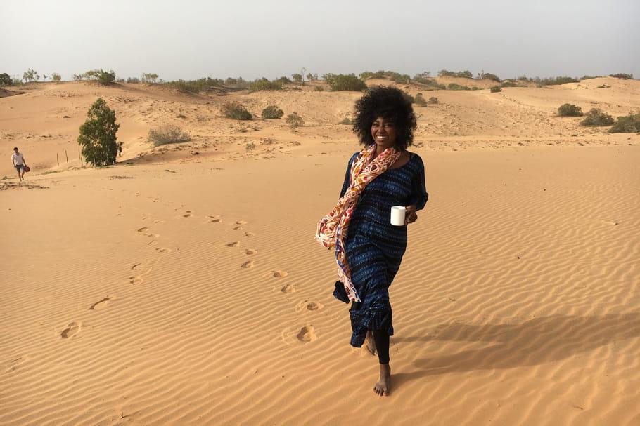 """Inna Modja, ambassadrice de la Grande Muraille Verte: """"J'ai découvert une autre Afrique..."""""""