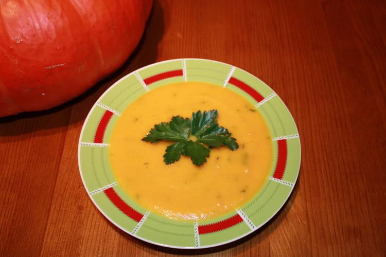Recette De Soupe A La Citrouille La Recette Facile