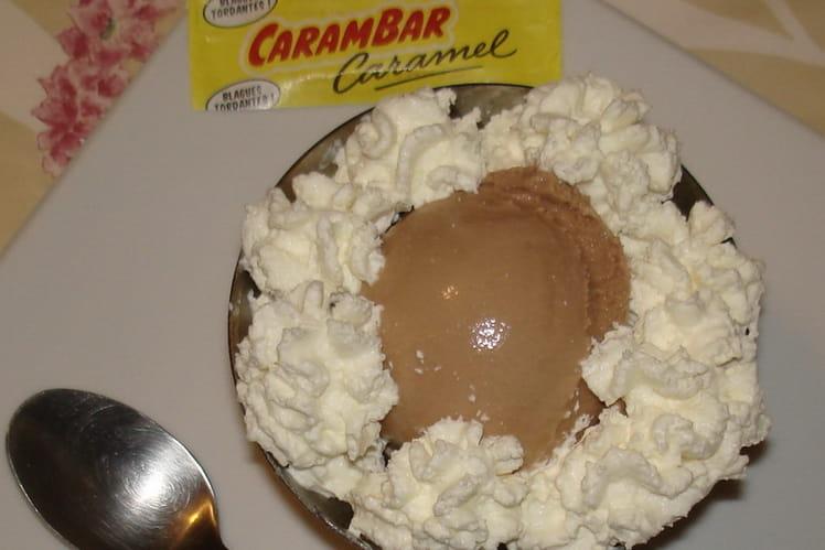 Crème glacée aux carambars