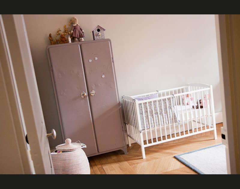 Mauve vintage pour bébé
