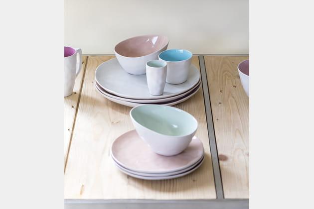 Vaisselle Color par Athezza
