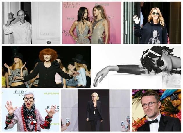 Les personnalités mode de 2016