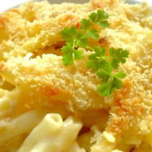 gratin de macaronis
