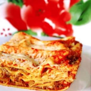 lasagnes au boeuf et aux cèpes