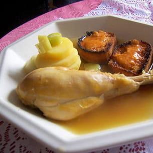 bouillabaisse de poulet
