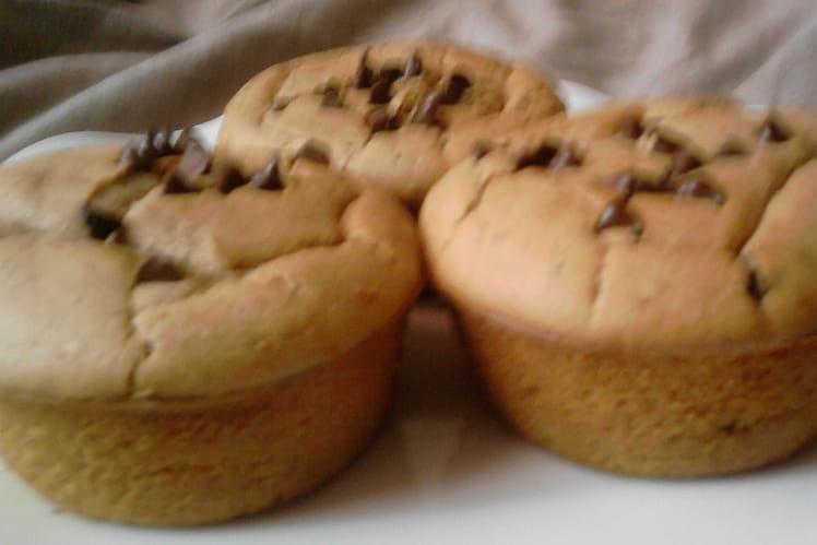 Muffins châtaigne-praliné