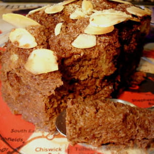 pudding de brioche au chocolat express
