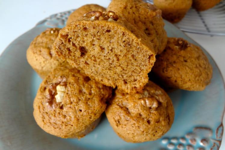 Mini cakes au café et aux noix