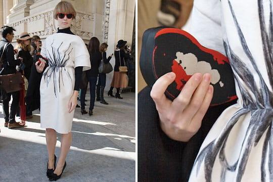 Fashion week : les street looks des défilés parisiens PAP automne-hiver 2011-2012 77