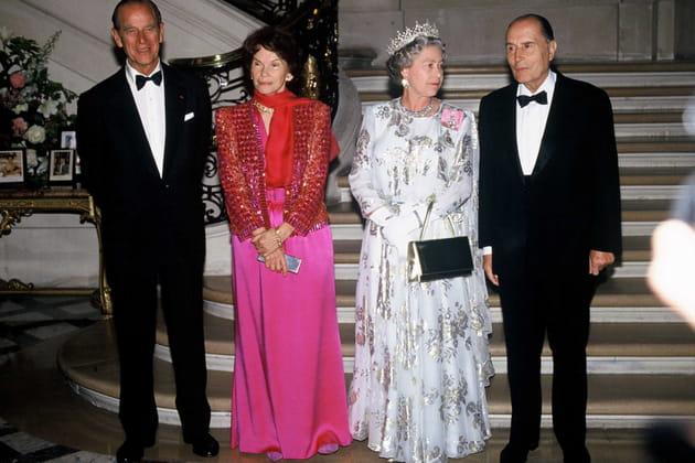 Diner a l'ambassade de Grande-Bretagne a Paris, 1992