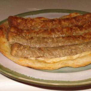 tarte fine aux fricadelles