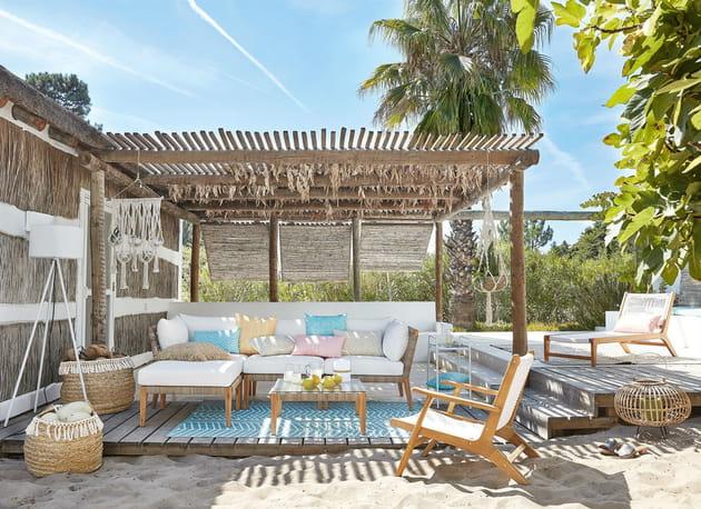 salon de jardin seychelles maisons du monde. Black Bedroom Furniture Sets. Home Design Ideas