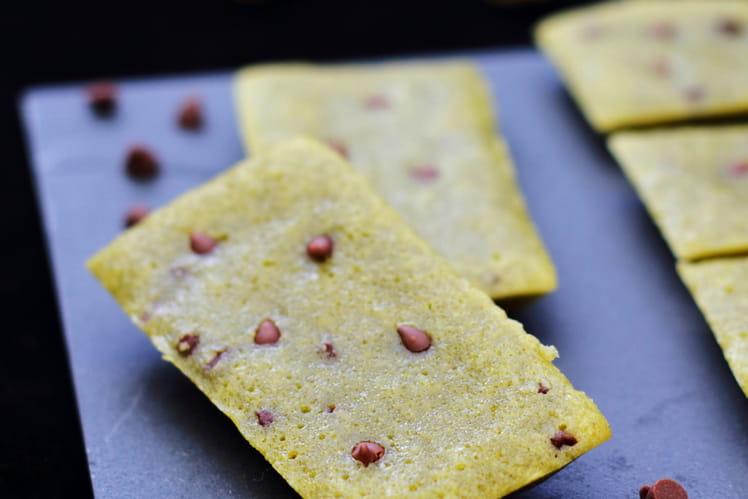 Financiers moelleux aux pistaches et pépites de chocolat au lait