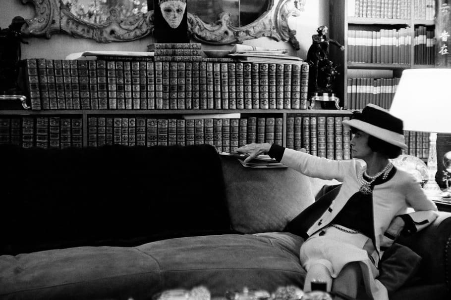 Venise nous invite dans la bibliothèque de Coco Chanel
