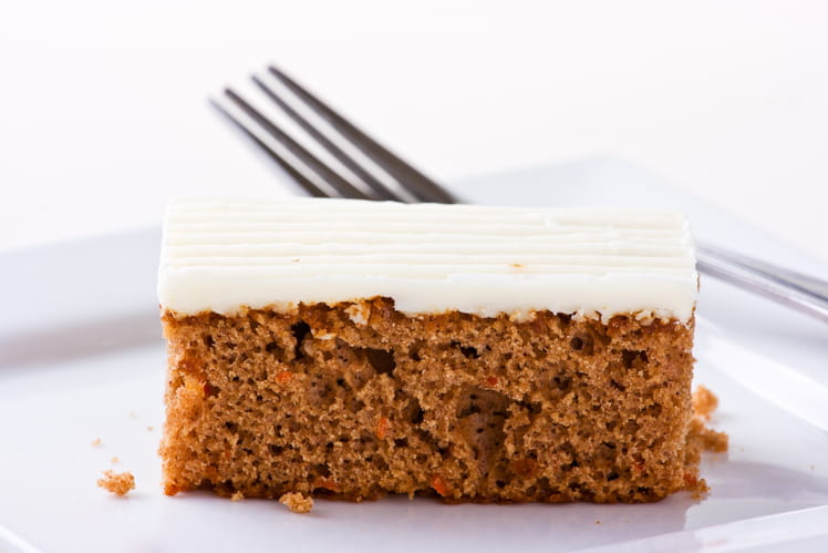 Gâteau aux carottes et spéculoos