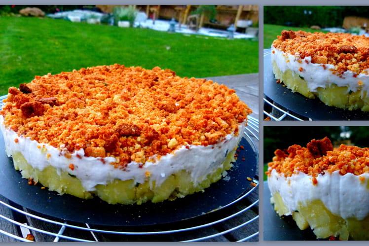 Recette de cheesecake sal la brandade de morue - Cuisiner la morue dessalee ...