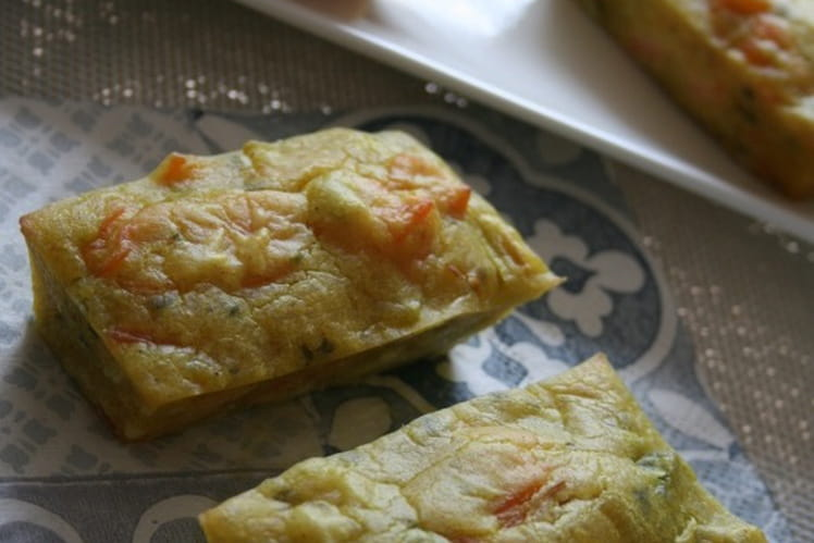 Cakes aux poireaux et truite fumée, sans oeufs ni gluten