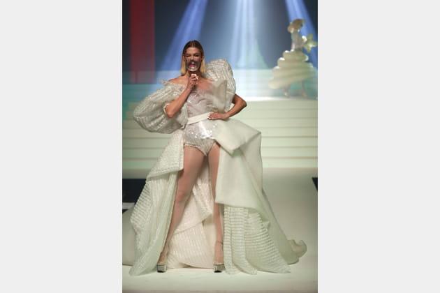 La robe de mariée du défilé Jean-Paul Gaultier
