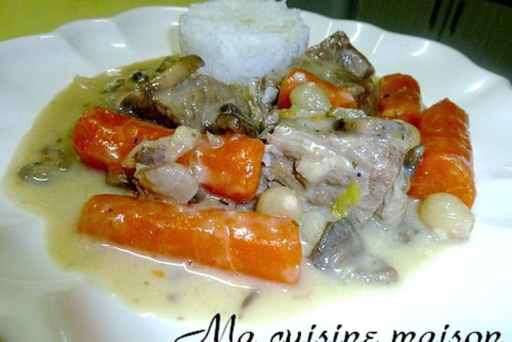 Blanquette de veau authentique