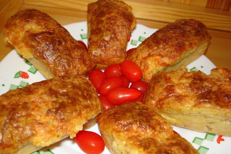 Cakes tomate-mozzarella