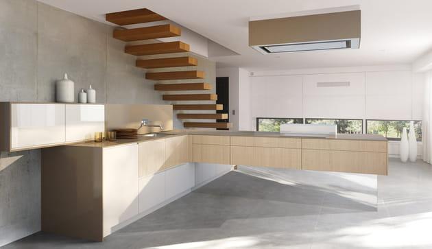 cuisine effet d 39 apesanteur de perene. Black Bedroom Furniture Sets. Home Design Ideas