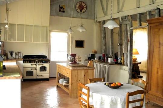 Une cuisine la d co campagne chic for Cuisine a la campagne