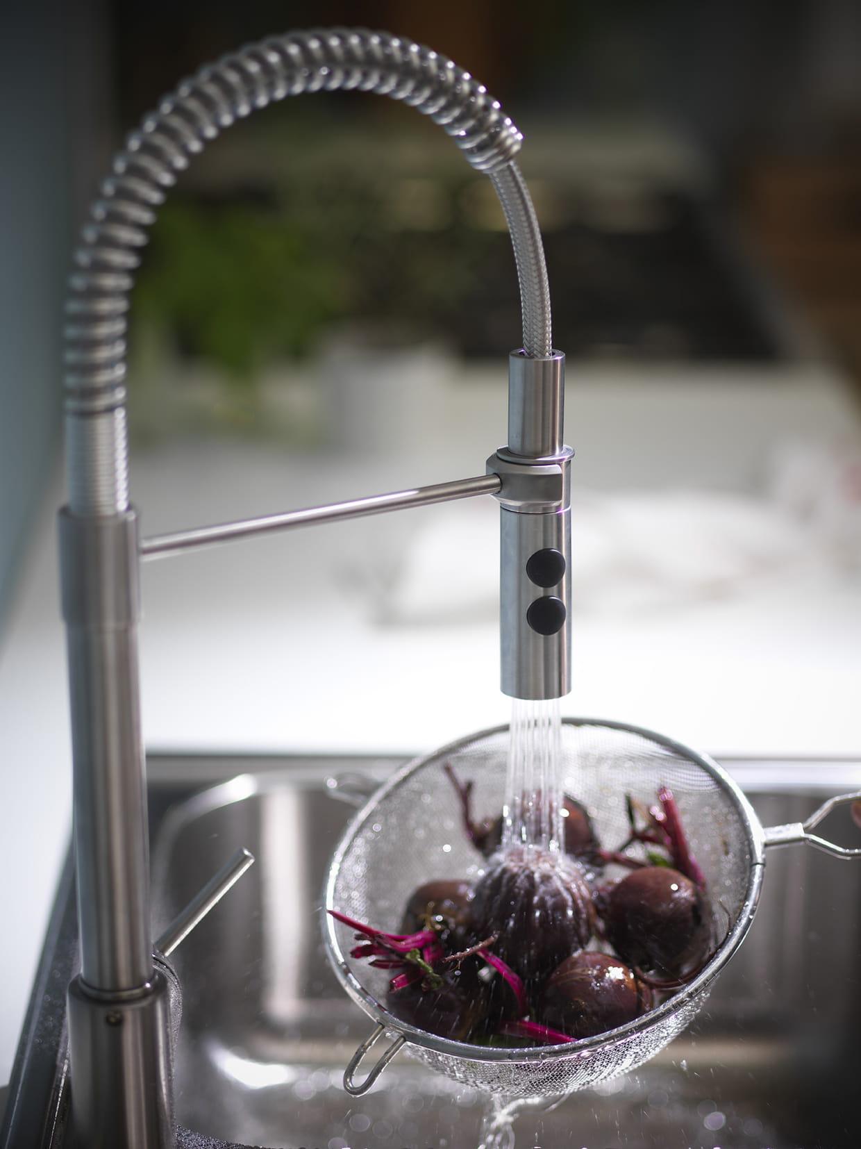 Mitigeur en acier ikea for Ikea rubinetti cucina