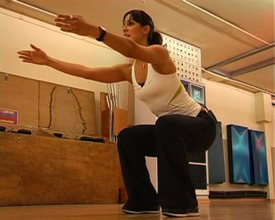 flexion de hanches et genoux