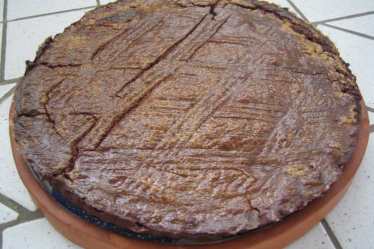 Gâteau basque tout choco