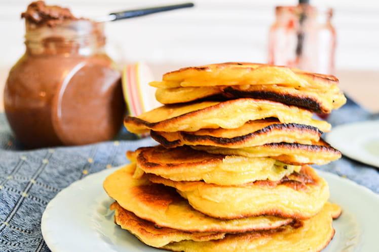 Pancakes à la compote