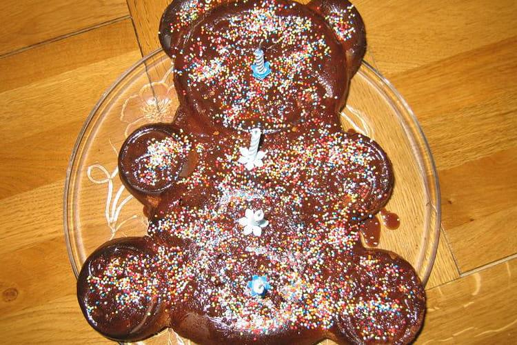 Gâteau à la crème de chocolat au micro-ondes