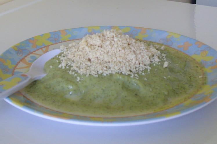 Crème de brocolis au poulet