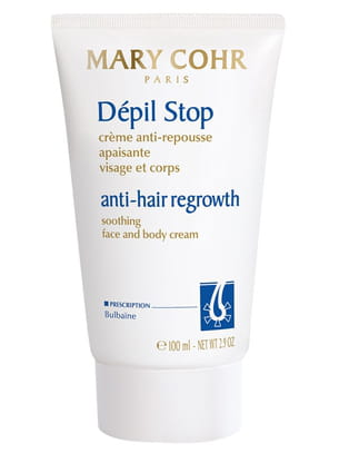 Dépil Stop, crème anti-repousse apiasant visage et corps