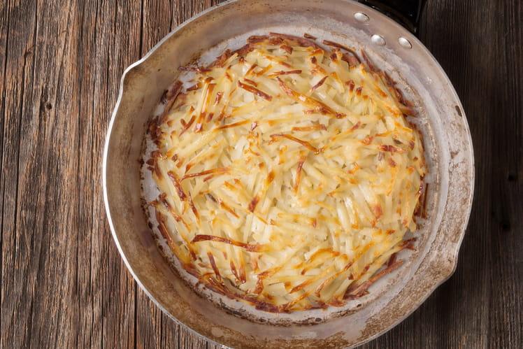 Rösti, galettes de pommes de terre