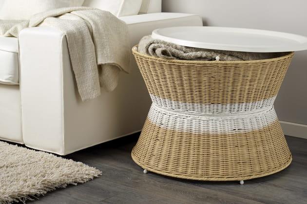Table-rangement Sandhaug d'Ikea