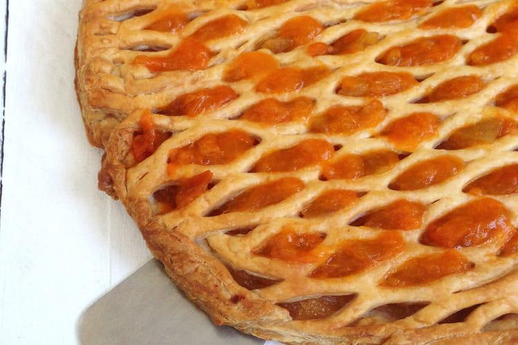 Feuilleté aux Pommes Abricots façon Tarte