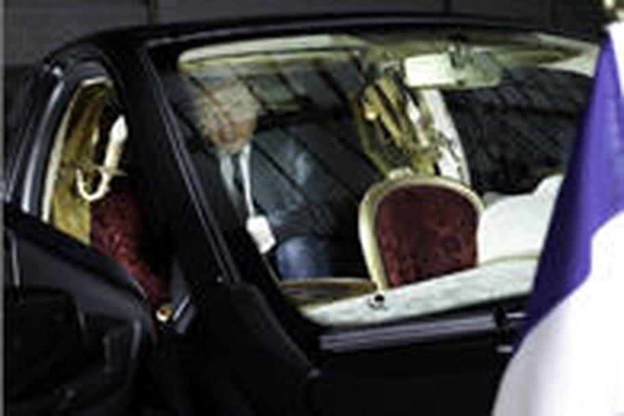 Jean-Charles de Castelbajac et sa Twingo présidentielle