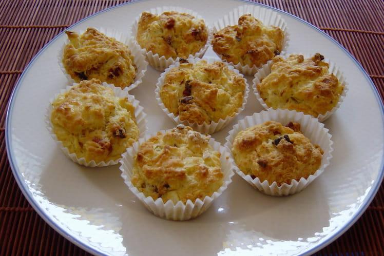Muffins oignons-lardons