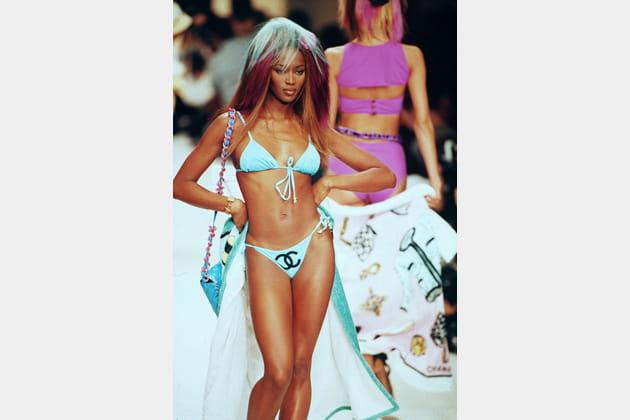 Naomi Campbell le 15juin 1993