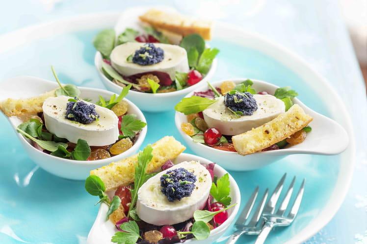 Salade de mesclun à l'En Cas de Caprice