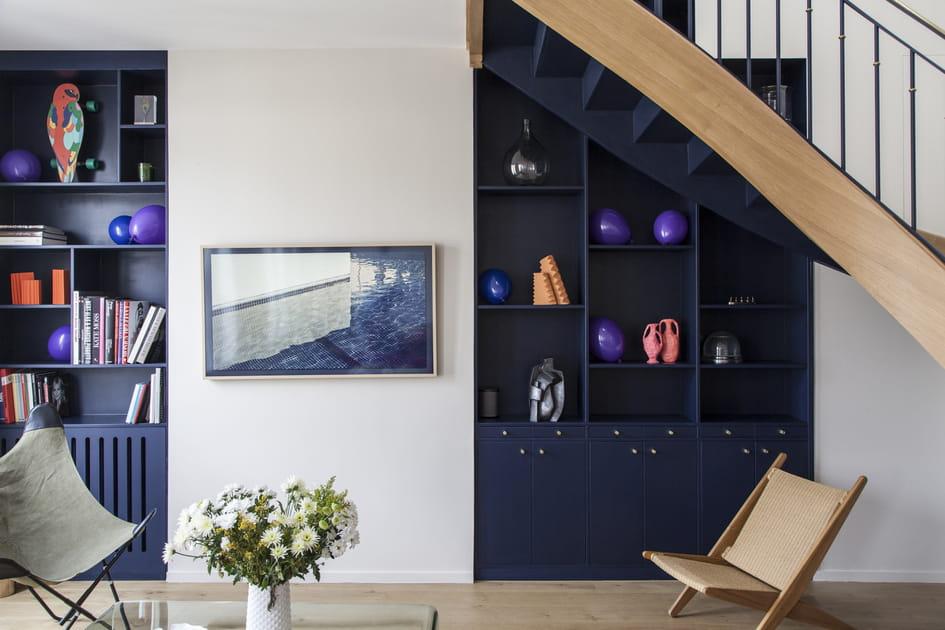Avant-après: un duplex coloré assorti d'un appartement jumelé