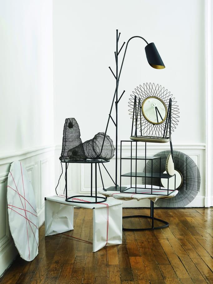 mobilier m tal de caravane l 39 appartement boh me chic de. Black Bedroom Furniture Sets. Home Design Ideas
