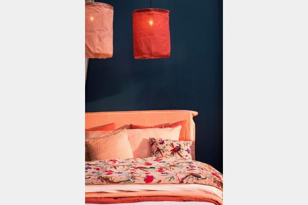 linge de lit edredon birdy de harmony textile. Black Bedroom Furniture Sets. Home Design Ideas