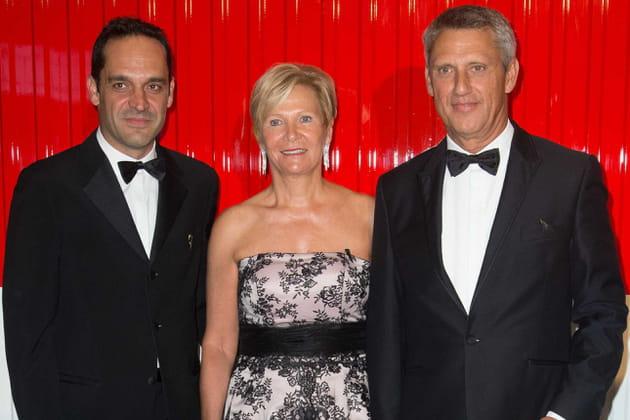 Frédéric Platini, Philippe Narmino et sa femme