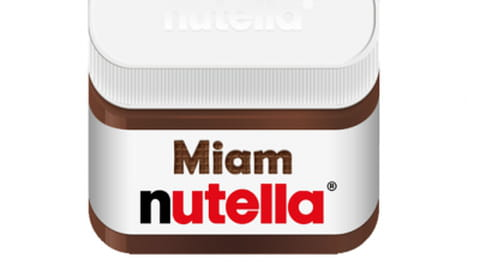 Miam, une application saveur Nutella