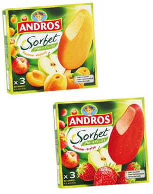 sorbets d'andros