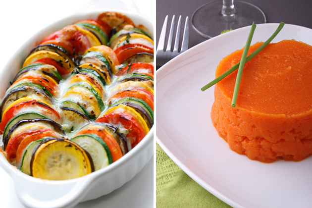 Gratin de légumes ou purée de légumes?