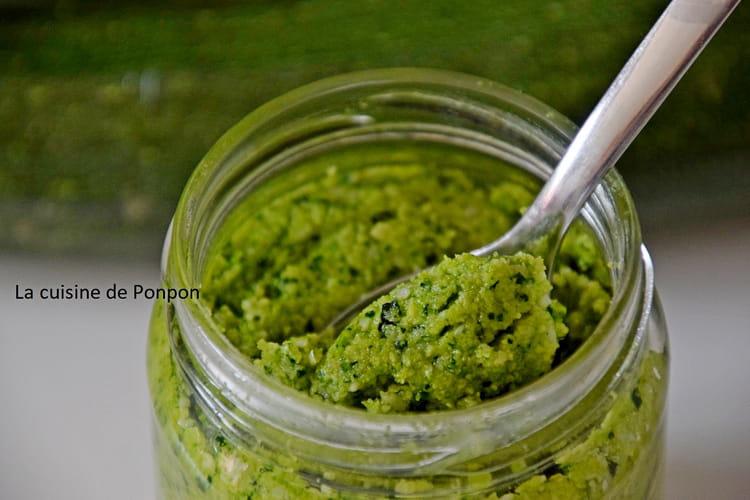 Pesto au vert de courgette