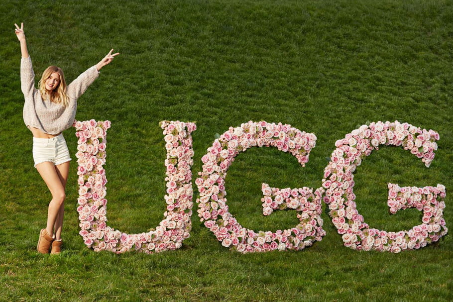 Rosie Huntington-Whiteley la nouvelle bottée de UGG